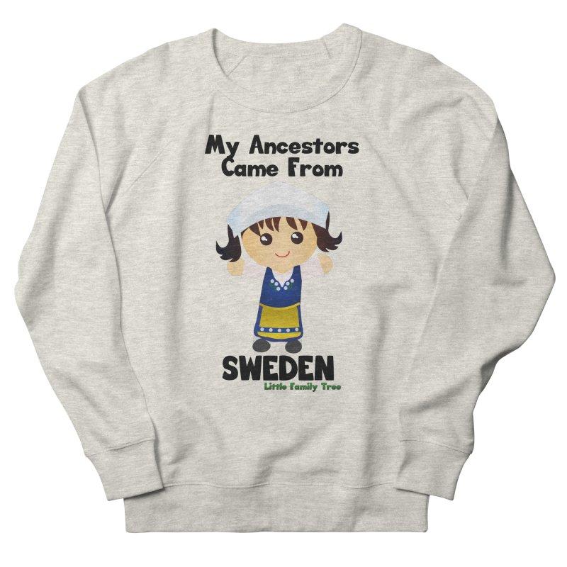 Sweden Ancestors Girl Women's Sweatshirt by Yellow Fork Tech's Shop