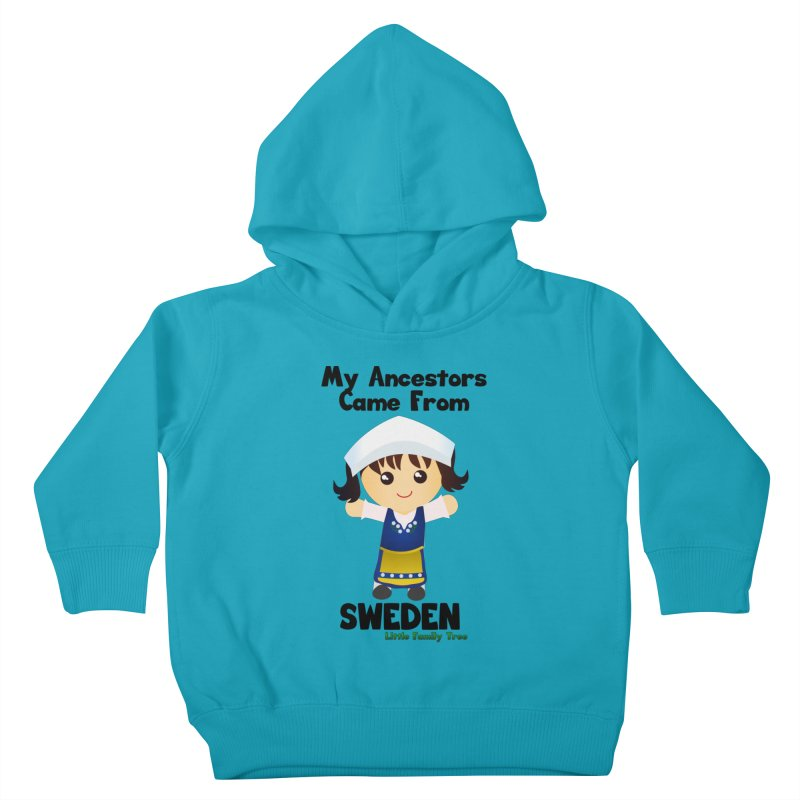 Sweden Ancestors Girl Kids Toddler Pullover Hoody by Yellow Fork Tech's Shop
