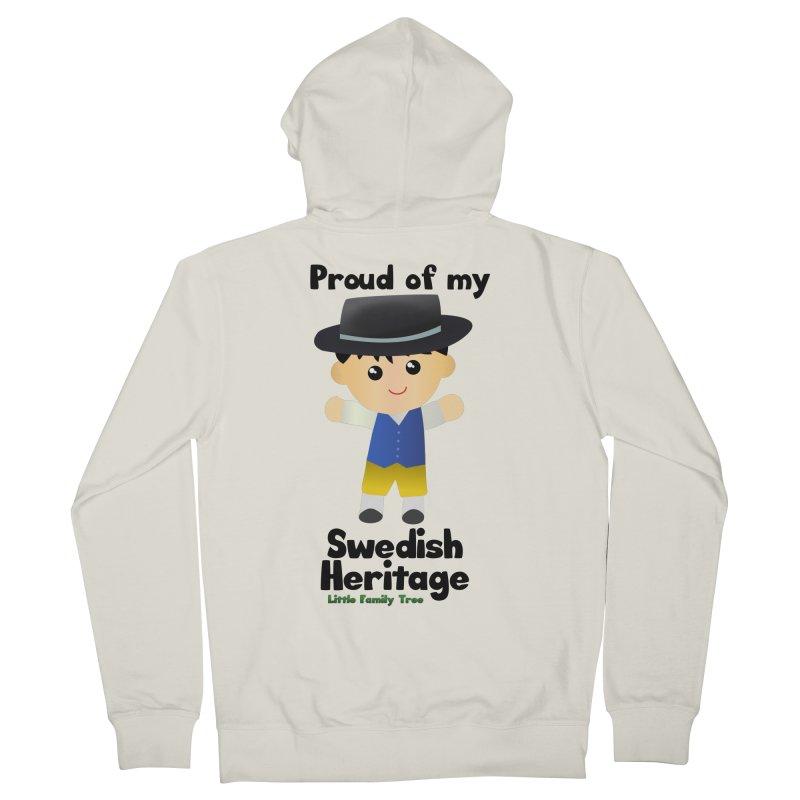 Swedish Heritage Boy Men's Zip-Up Hoody by Yellow Fork Tech's Shop