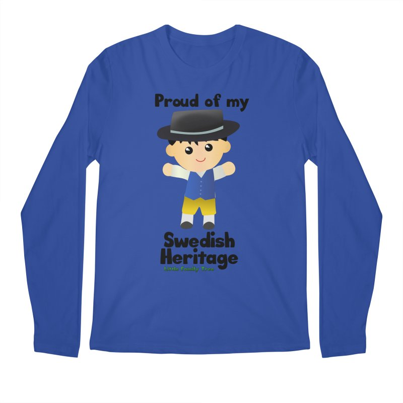 Swedish Heritage Boy Men's Longsleeve T-Shirt by Yellow Fork Tech's Shop