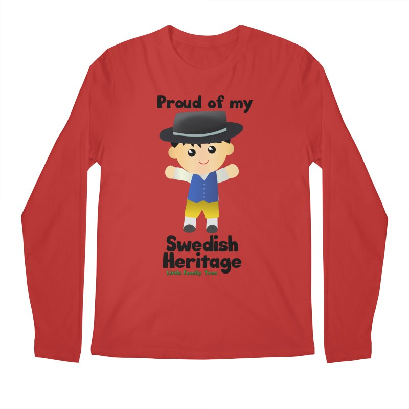 Swedish Heritage Boy Men's Longsleeve T-Shirt by Yellow Fork Tech's Shop