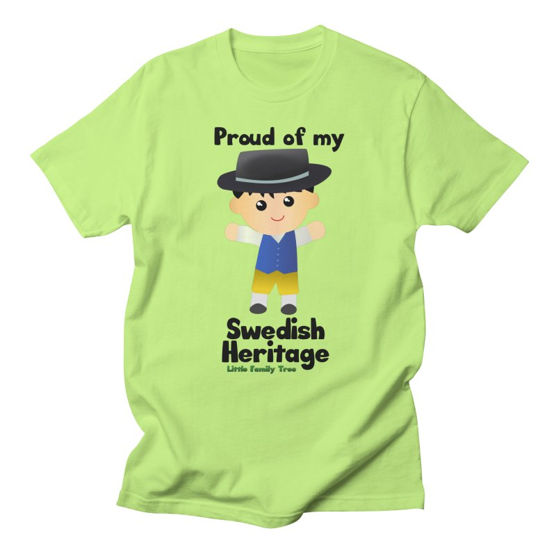 Swedish Heritage Boy Men's T-Shirt by Yellow Fork Tech's Shop