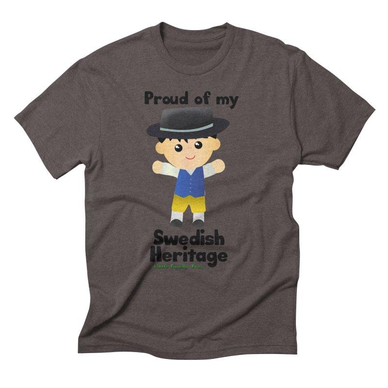 Swedish Heritage Boy Men's Triblend T-shirt by Yellow Fork Tech's Shop