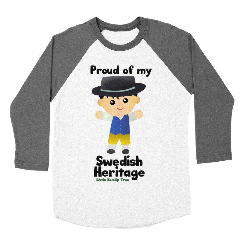 Swedish Heritage Boy Men's Baseball Triblend T-Shirt by Yellow Fork Tech's Shop