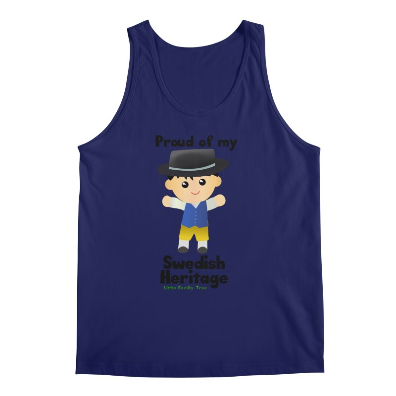 Swedish Heritage Boy Men's Tank by Yellow Fork Tech's Shop