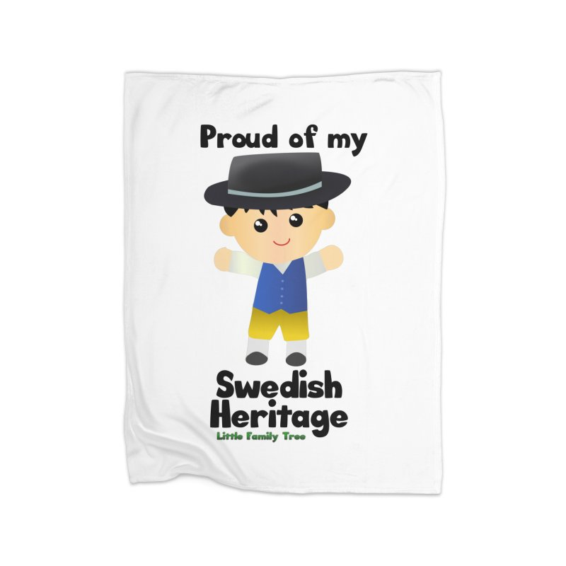 Swedish Heritage Boy Home Blanket by Yellow Fork Tech's Shop