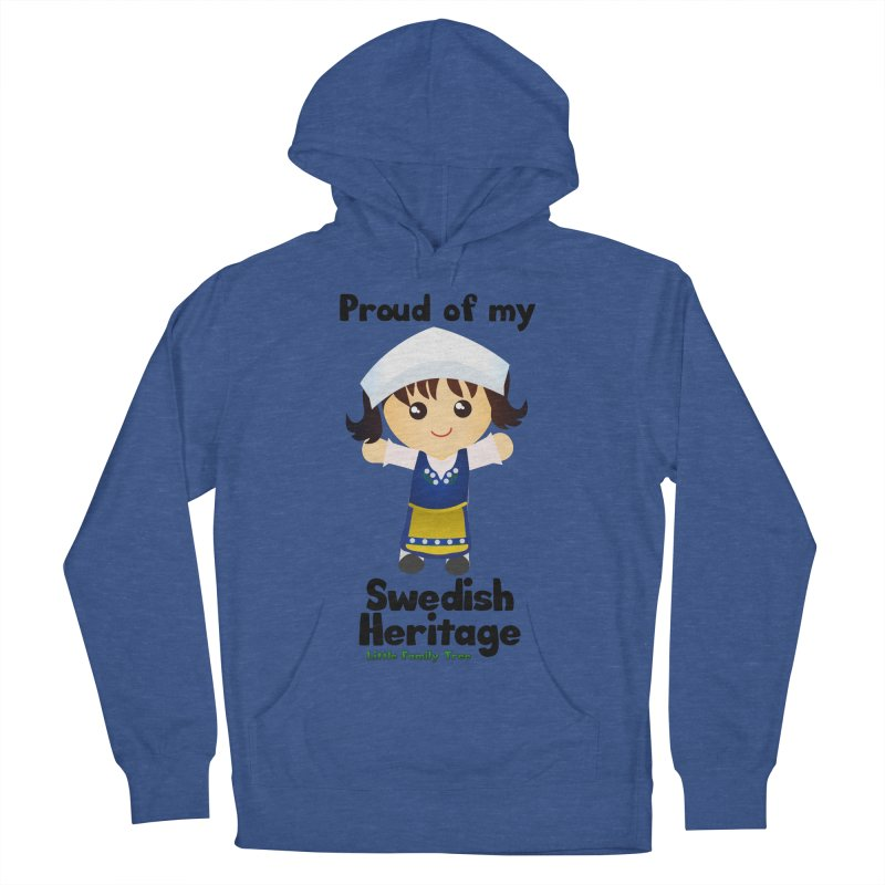 Swedish Heritage Girl Women's Pullover Hoody by Yellow Fork Tech's Shop
