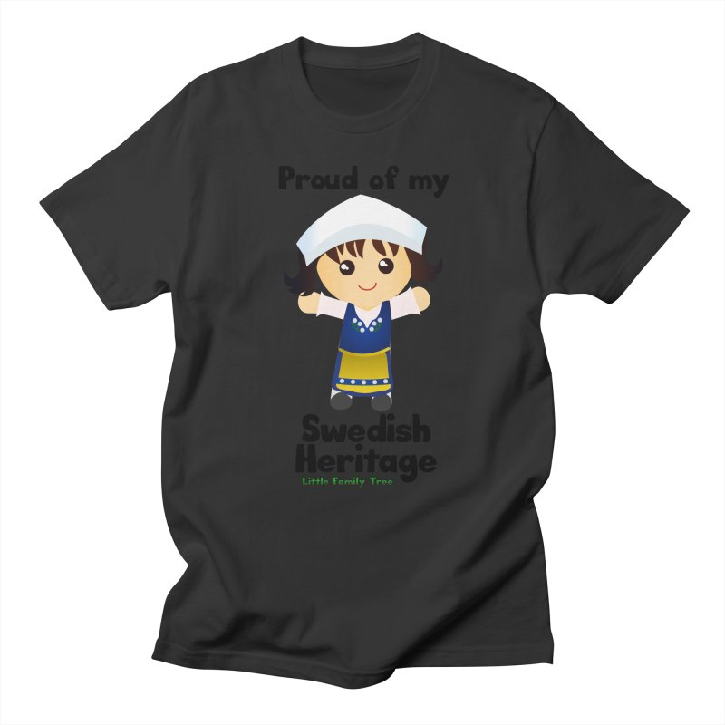 Swedish Heritage Girl Women's Unisex T-Shirt by Yellow Fork Tech's Shop