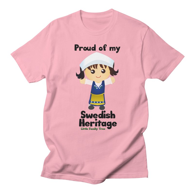 Swedish Heritage Girl Women's Unisex T-Shirt by Yellow Fork Tech's Shop