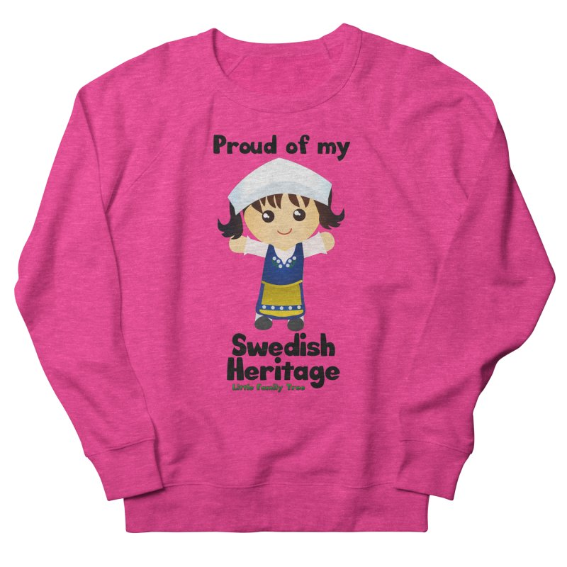 Swedish Heritage Girl Women's Sweatshirt by Yellow Fork Tech's Shop