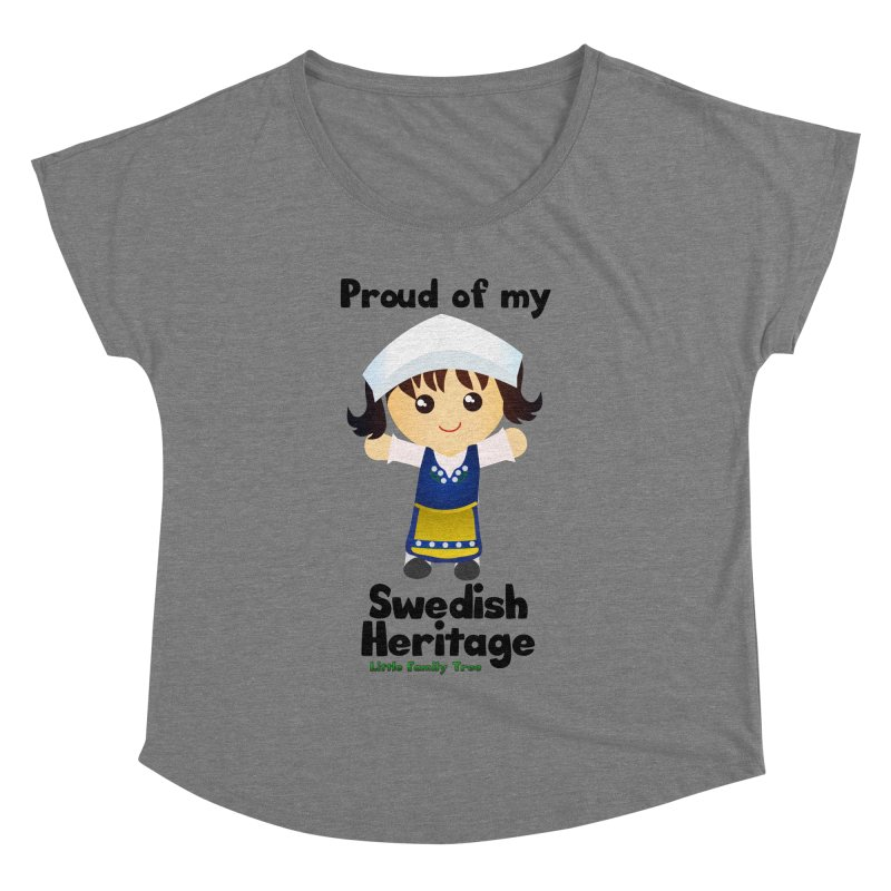 Swedish Heritage Girl Women's Dolman by Yellow Fork Tech's Shop