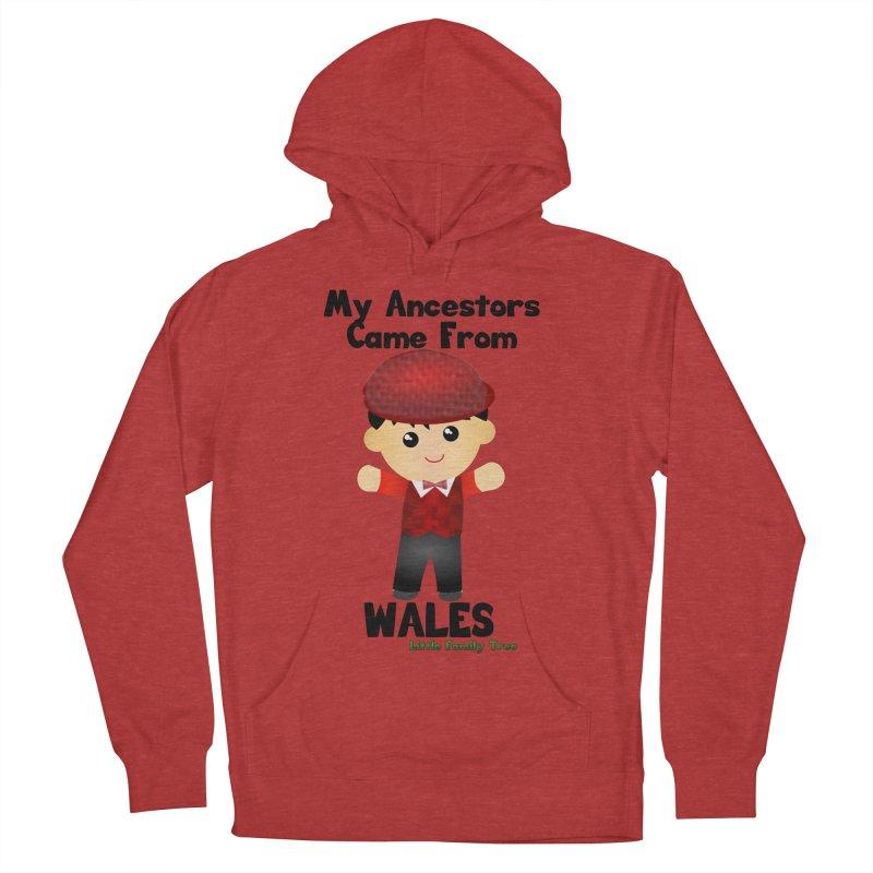 Wales Ancestors Boy Men's Pullover Hoody by Yellow Fork Tech's Shop