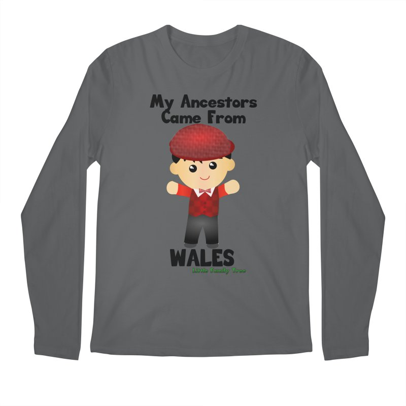 Wales Ancestors Boy Men's Longsleeve T-Shirt by Yellow Fork Tech's Shop