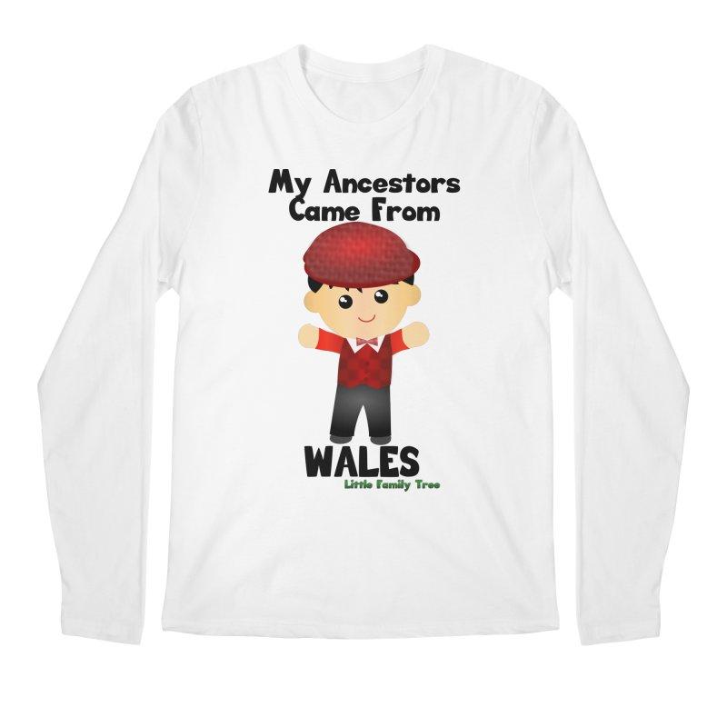 Wales Ancestors Boy Men's Longsleeve T-Shirt by Yellow Fork Tech's Shop