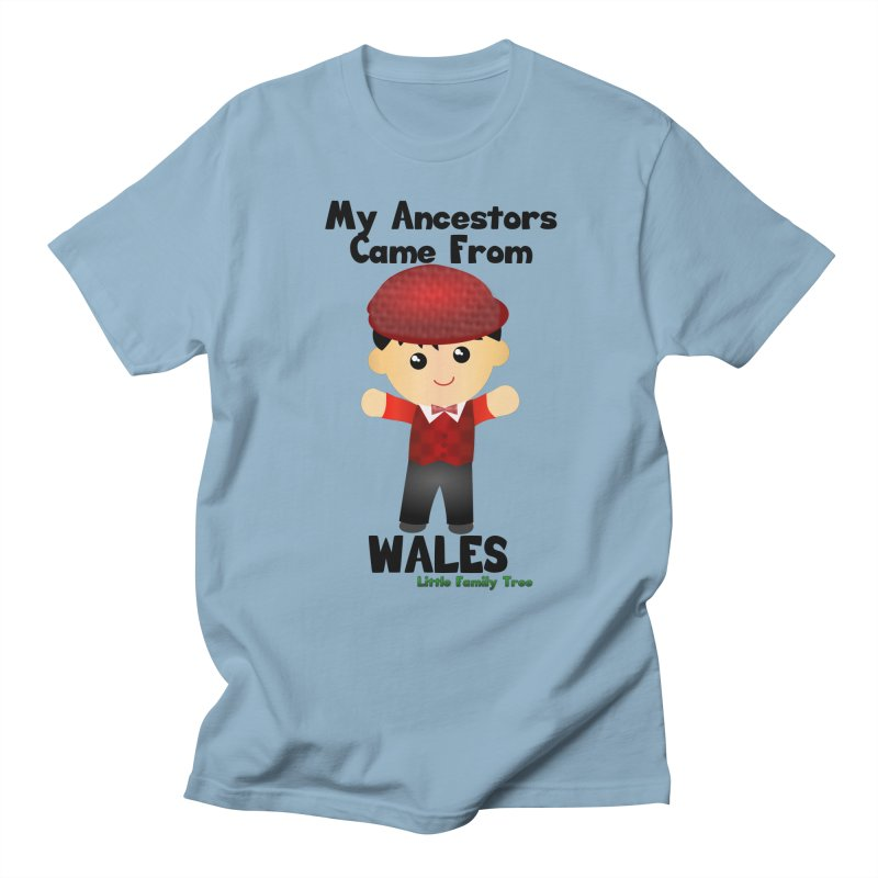 Wales Ancestors Boy Men's T-Shirt by Yellow Fork Tech's Shop