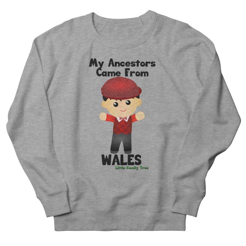 Wales Ancestors Boy Men's Sweatshirt by Yellow Fork Tech's Shop