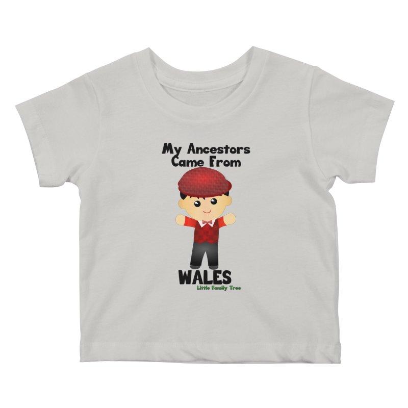 Wales Ancestors Boy Kids Baby T-Shirt by Yellow Fork Tech's Shop