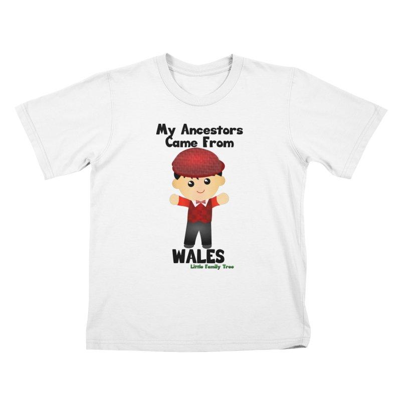 Wales Ancestors Boy Kids T-Shirt by Yellow Fork Tech's Shop