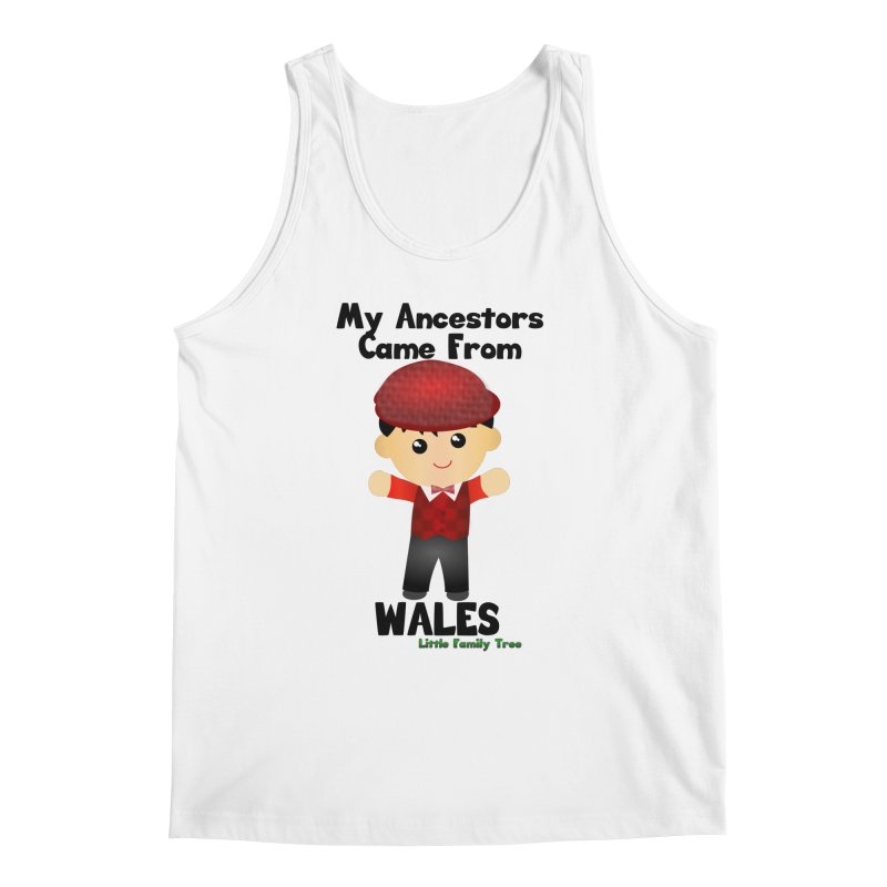 Wales Ancestors Boy Men's Tank by Yellow Fork Tech's Shop