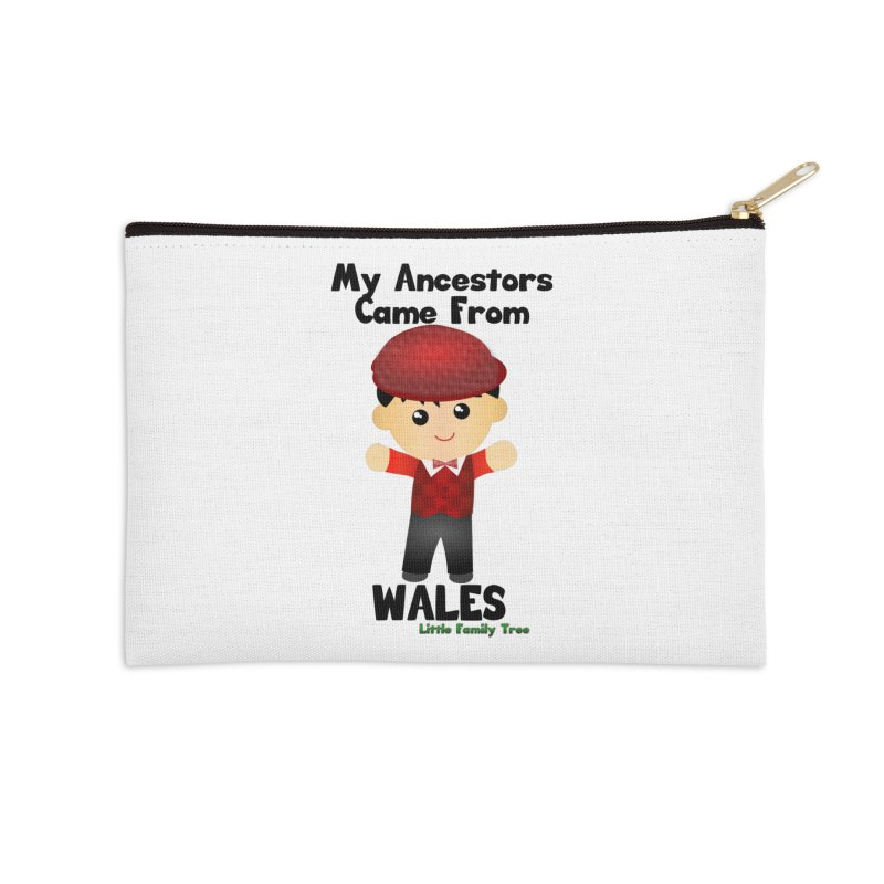 Wales Ancestors Boy Accessories Zip Pouch by Yellow Fork Tech's Shop