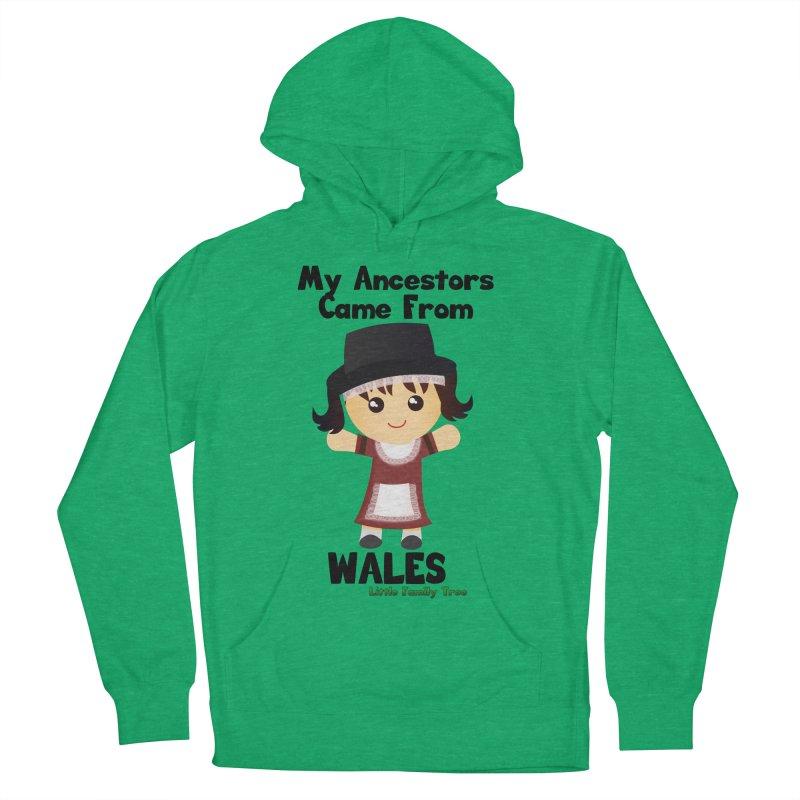 Wales Ancestors Girl Women's Pullover Hoody by Yellow Fork Tech's Shop
