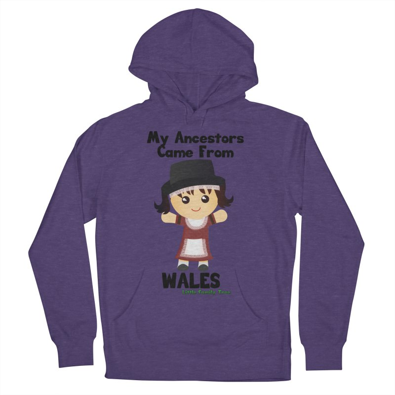 Wales Ancestors Girl Women's Pullover Hoody by Yellow Fork Tech's Shop
