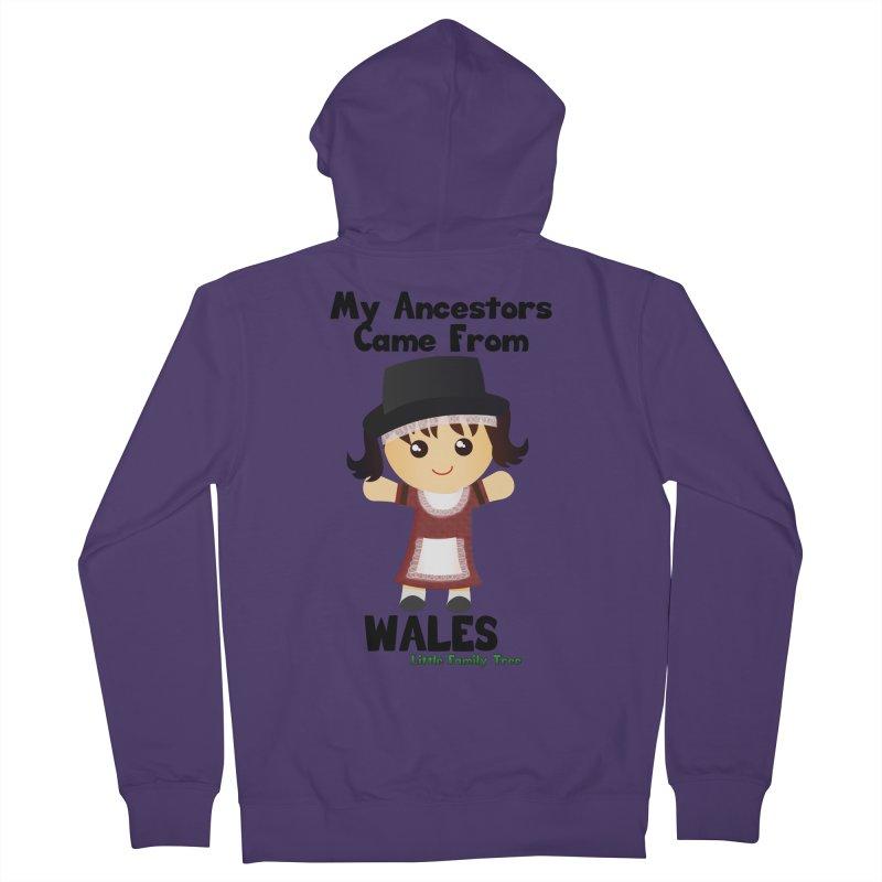 Wales Ancestors Girl Women's Zip-Up Hoody by Yellow Fork Tech's Shop