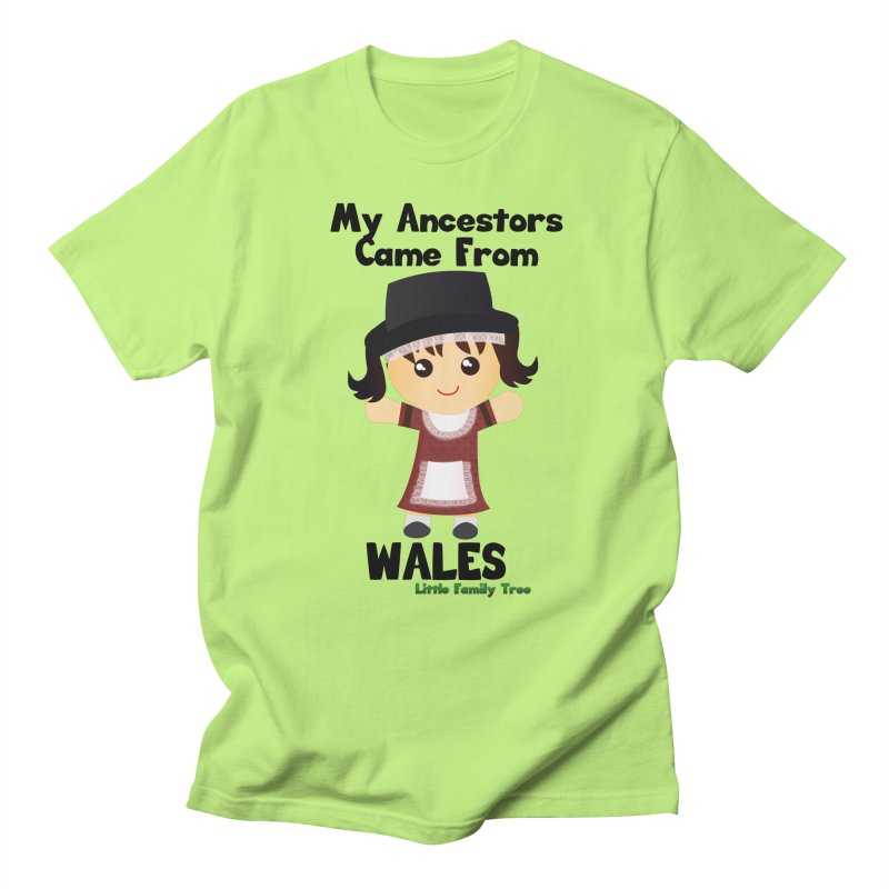 Wales Ancestors Girl Women's Unisex T-Shirt by Yellow Fork Tech's Shop