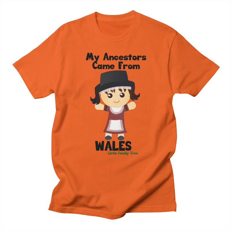 Wales Ancestors Girl Women's Unisex T-Shirt by Yellow Fork Tech's Shop
