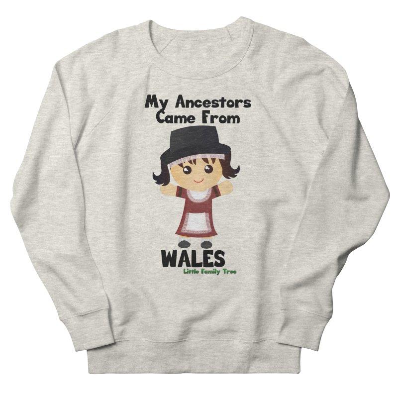 Wales Ancestors Girl Women's Sweatshirt by Yellow Fork Tech's Shop