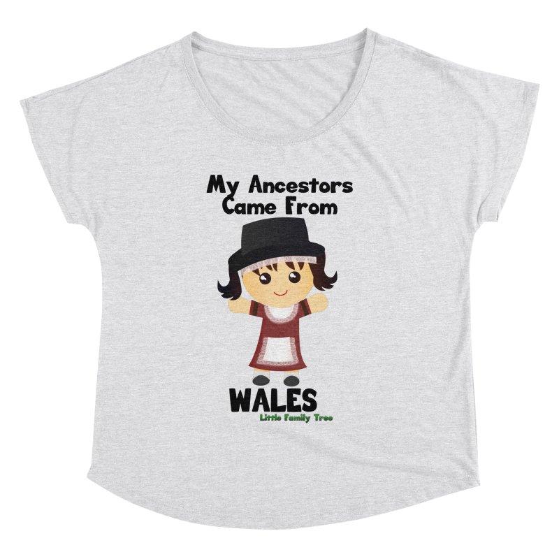 Wales Ancestors Girl Women's Dolman by Yellow Fork Tech's Shop
