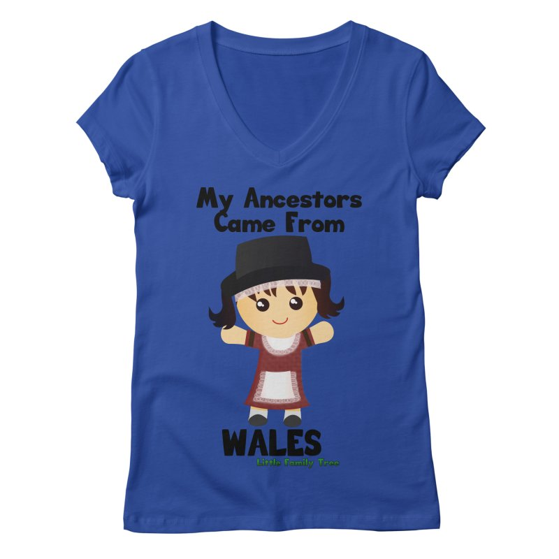 Wales Ancestors Girl   by Yellow Fork Tech's Shop