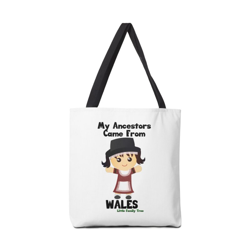 Wales Ancestors Girl Accessories Bag by Yellow Fork Tech's Shop