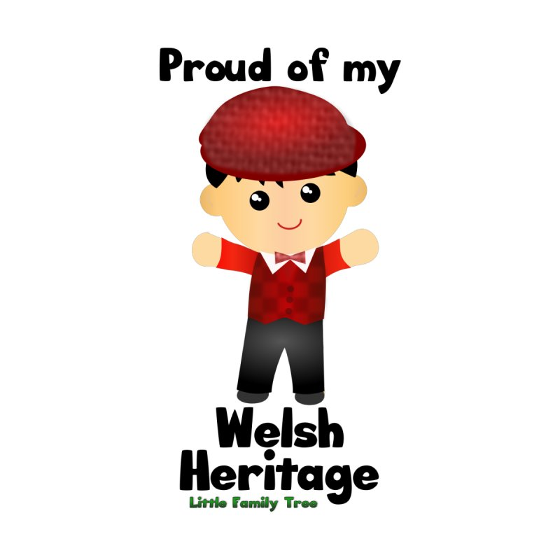 Welsh Heritage Boy Home Blanket by Yellow Fork Tech's Shop