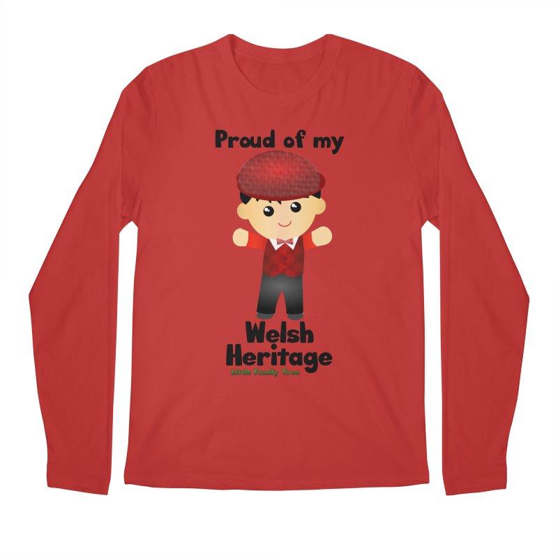 Welsh Heritage Boy Men's Longsleeve T-Shirt by Yellow Fork Tech's Shop