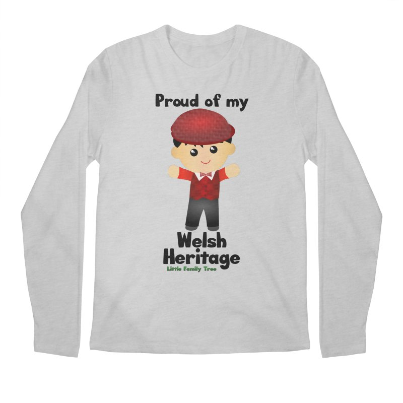 Welsh Heritage Boy Men's Longsleeve T-Shirt by Yellow Fork Tech's Shop