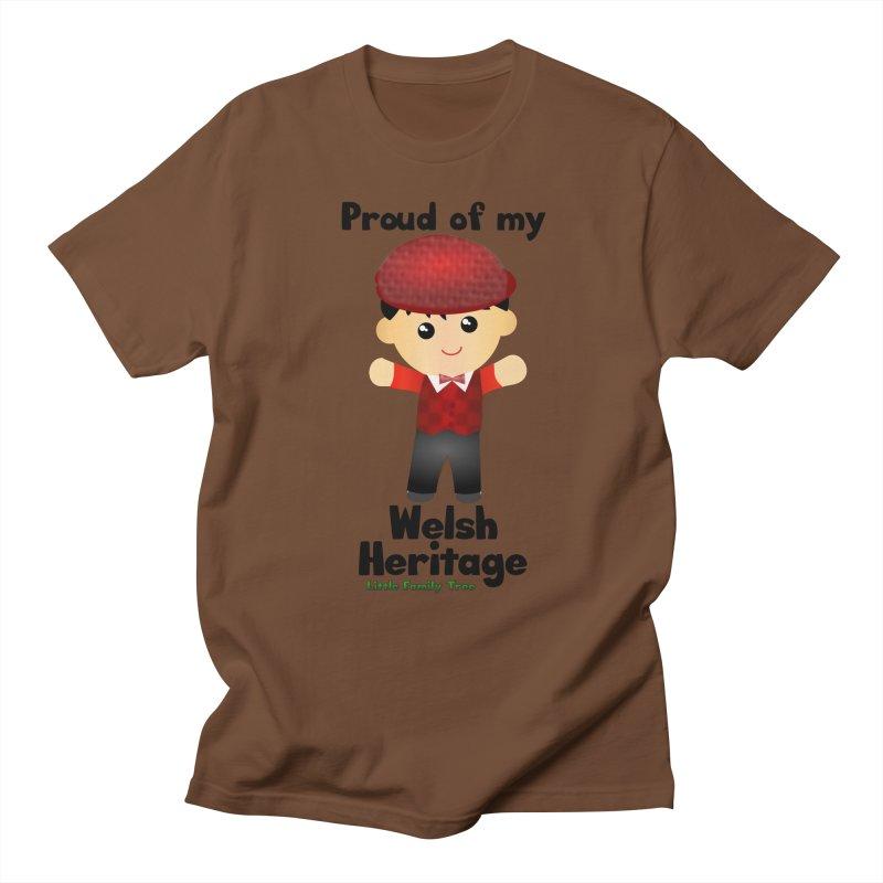 Welsh Heritage Boy Men's T-Shirt by Yellow Fork Tech's Shop
