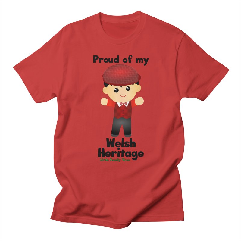 Welsh Heritage Boy Men's T-Shirt by Yellow Fork Tech's Shop