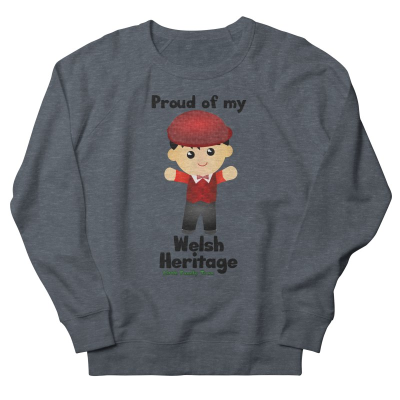 Welsh Heritage Boy Men's Sweatshirt by Yellow Fork Tech's Shop