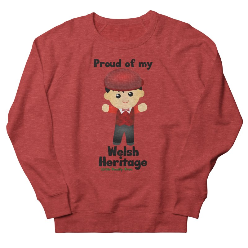 Welsh Heritage Boy Men's Sweatshirt by Yellow Fork Tech's Shop