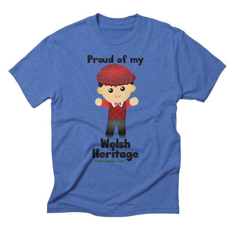 Welsh Heritage Boy Men's Triblend T-shirt by Yellow Fork Tech's Shop