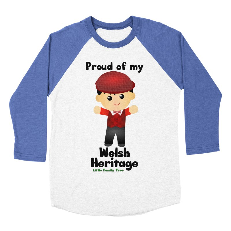 Welsh Heritage Boy Men's Baseball Triblend T-Shirt by Yellow Fork Tech's Shop