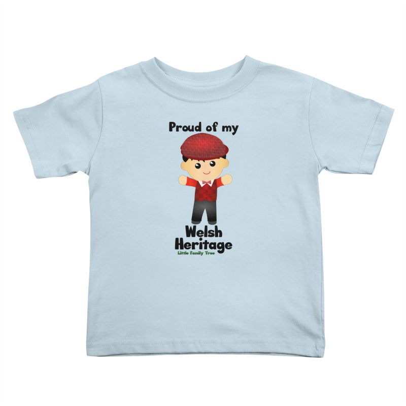 Welsh Heritage Boy Kids Toddler T-Shirt by Yellow Fork Tech's Shop