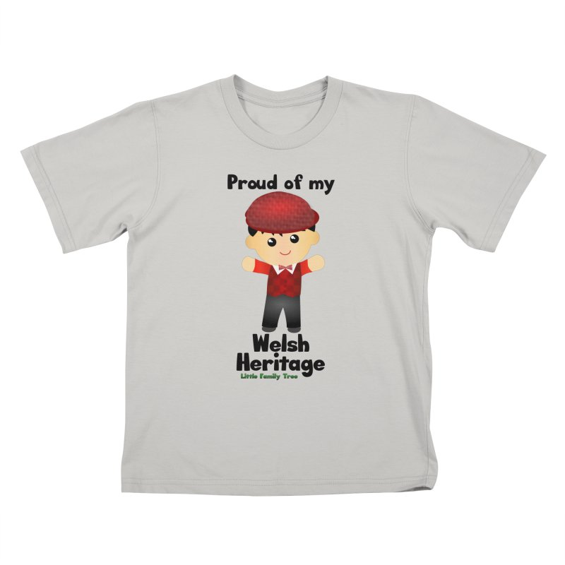 Welsh Heritage Boy Kids T-shirt by Yellow Fork Tech's Shop