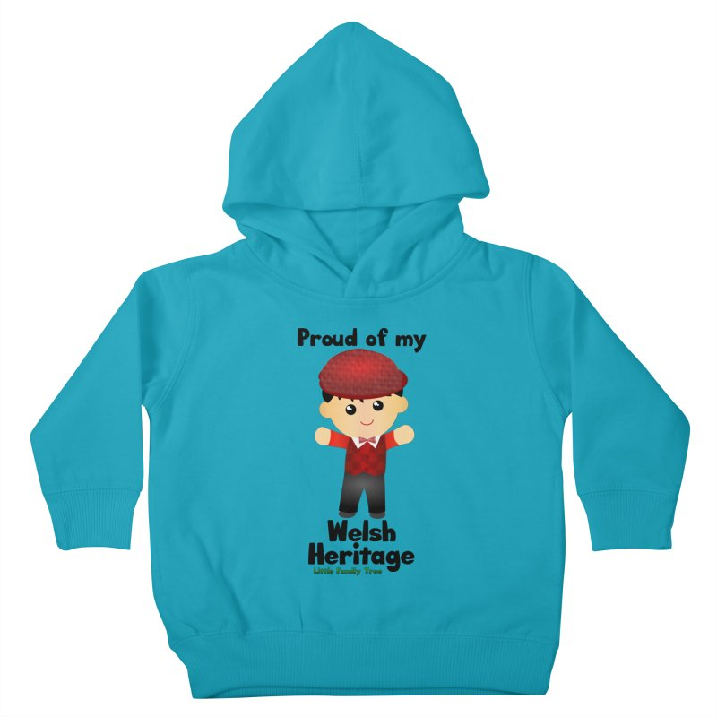 Welsh Heritage Boy Kids Toddler Pullover Hoody by Yellow Fork Tech's Shop