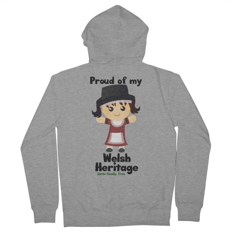 Welsh Heritage Girl Women's Zip-Up Hoody by Yellow Fork Tech's Shop