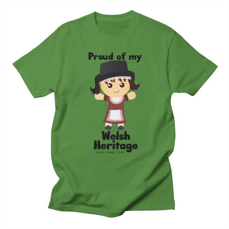 Welsh Heritage Girl Women's Unisex T-Shirt by Yellow Fork Tech's Shop
