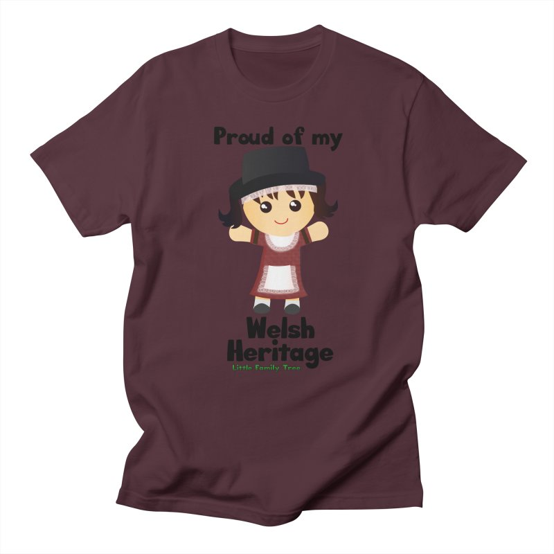 Welsh Heritage Girl Women's Unisex T-Shirt by Yellow Fork Tech's Shop