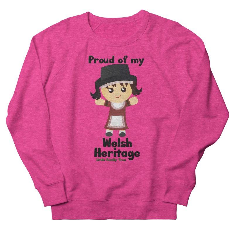 Welsh Heritage Girl Women's Sweatshirt by Yellow Fork Tech's Shop