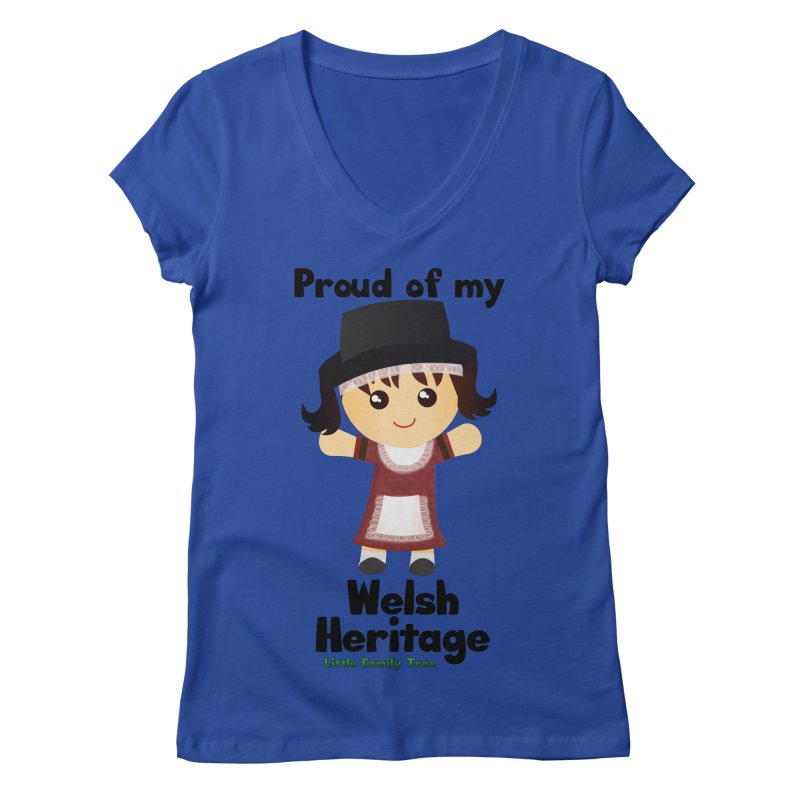 Welsh Heritage Girl   by Yellow Fork Tech's Shop